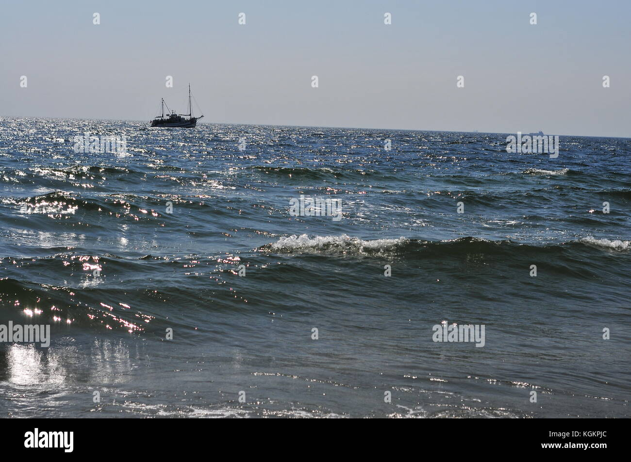 hel poland august 2017 fishing boats on baltic sea poland