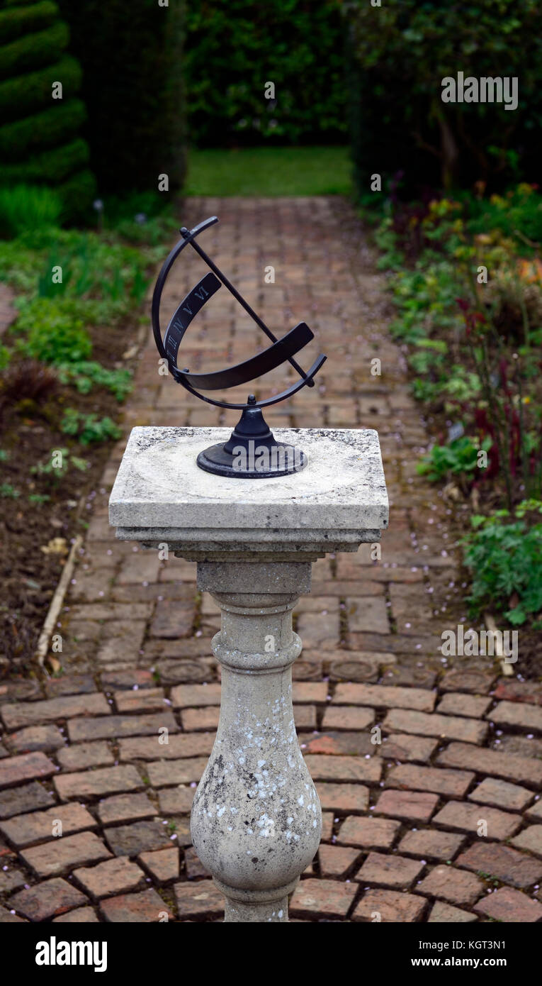 Sundial, Garden Feature, Garden, Gardens, Design, Time, Gardening, RM Floral