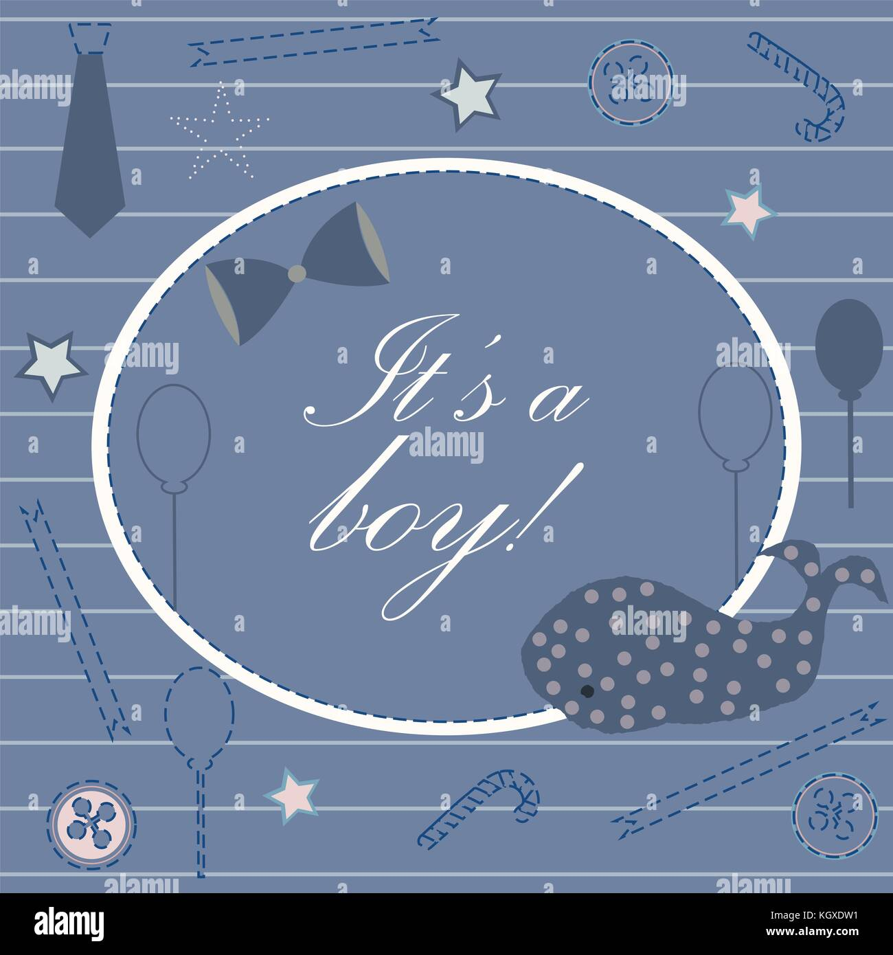 Baby boy birth announcement baby shower invitation card cute whale baby boy birth announcement baby shower invitation card cute whale announces the arrival of boy card design on teal background with ribbons tie b filmwisefo