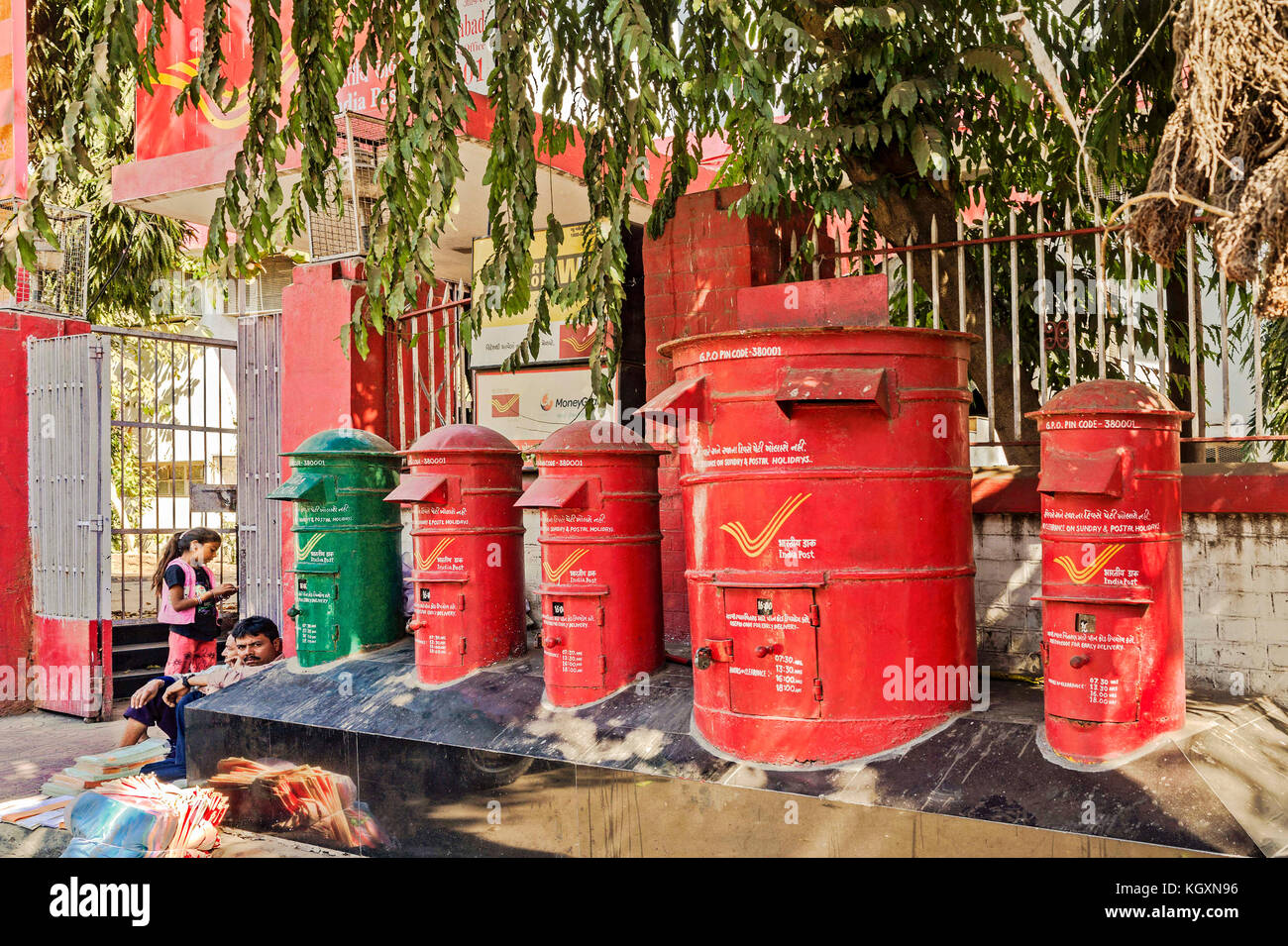 General post office ahmedabad gujarat india asia stock image