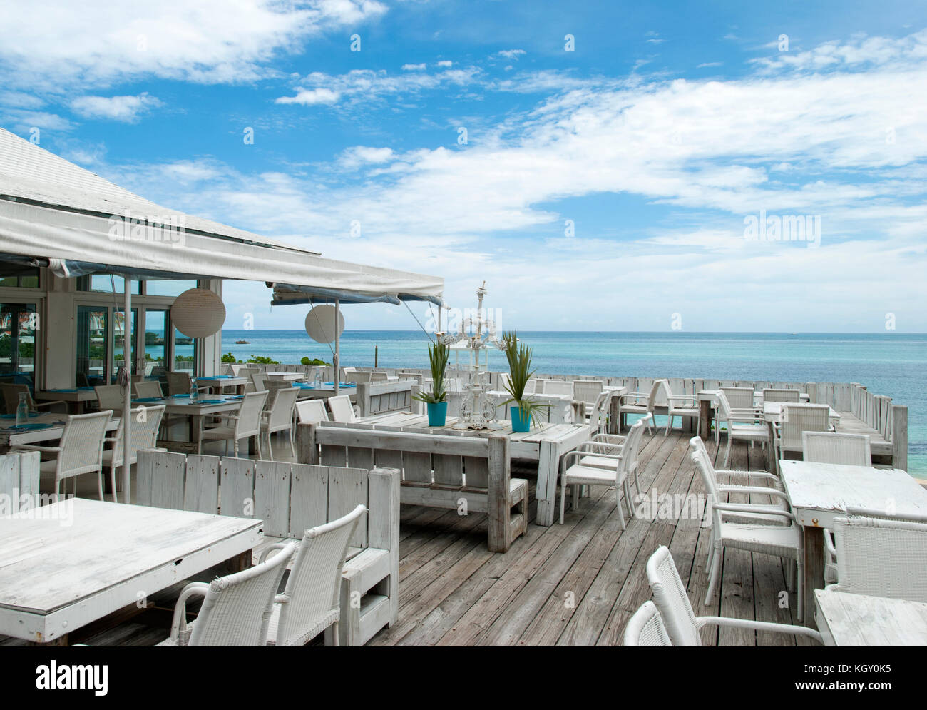 Bahamas nassau restaurant stock photos bahamas nassau for Open terrace restaurants