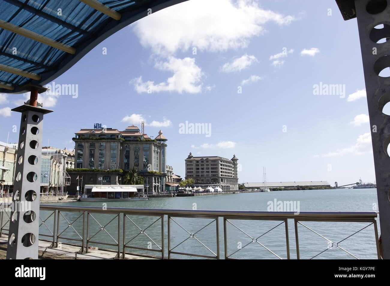 Mauritius port louis district stock photos mauritius - Where is port louis mauritius located ...