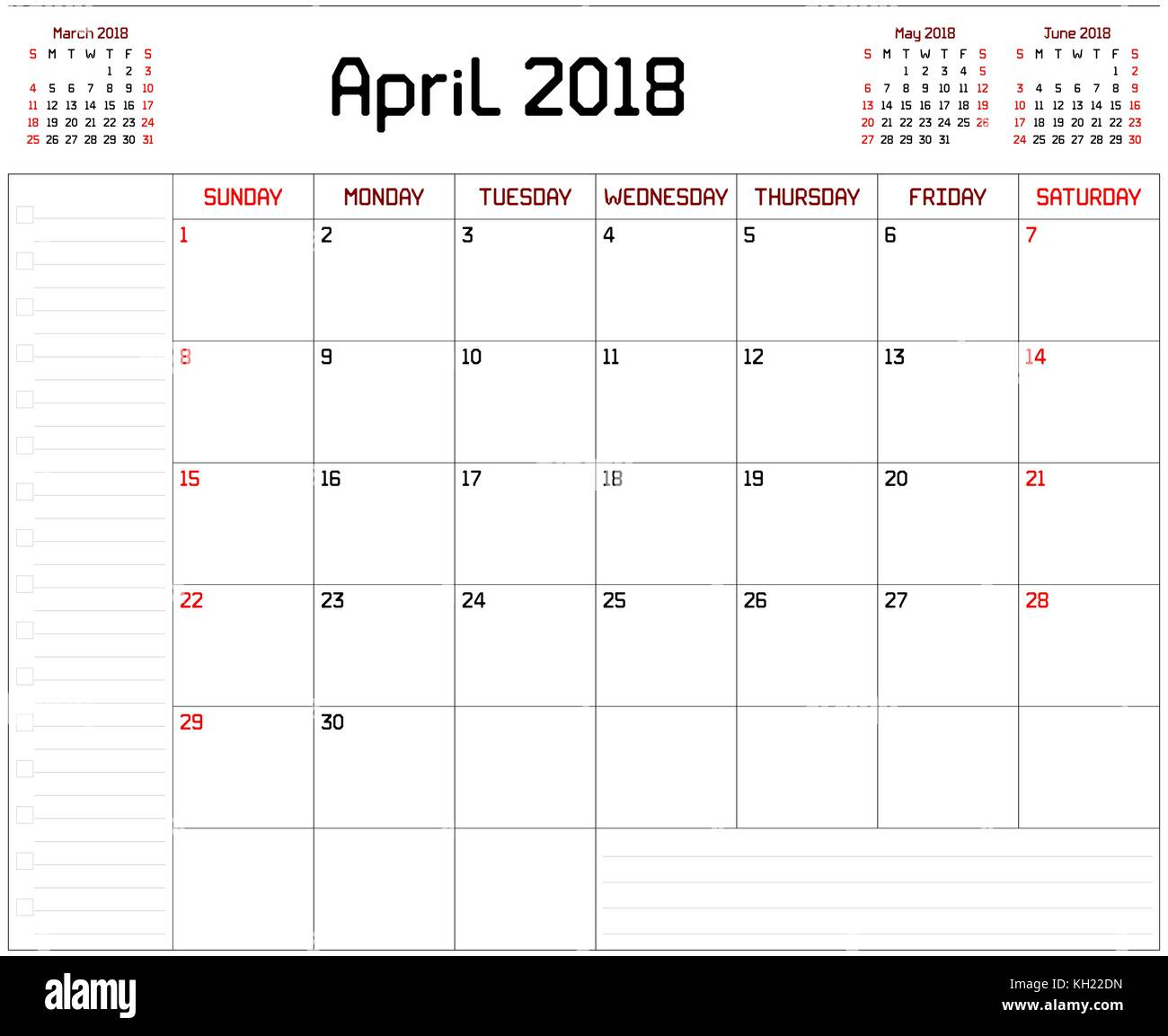 May Calendar This Year : Year april planner a monthly calendar for
