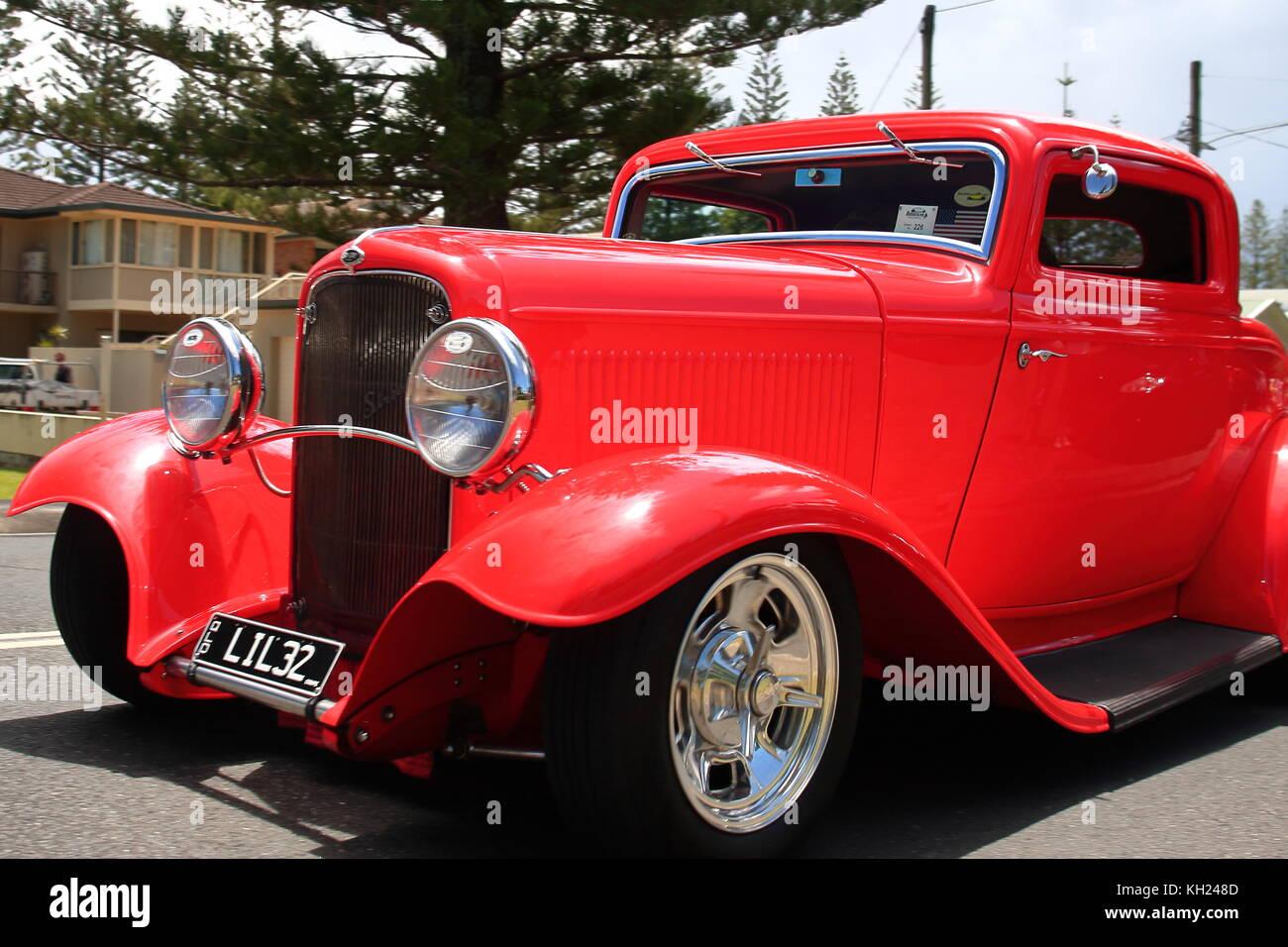 Vintage American Muscle Car Flame Stock Photos & Vintage American ...