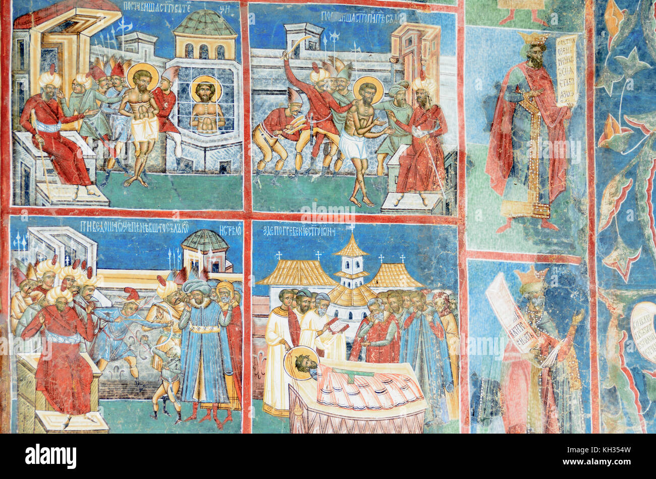 Fresco mural stock photos fresco mural stock images alamy for Clarks mural fresco