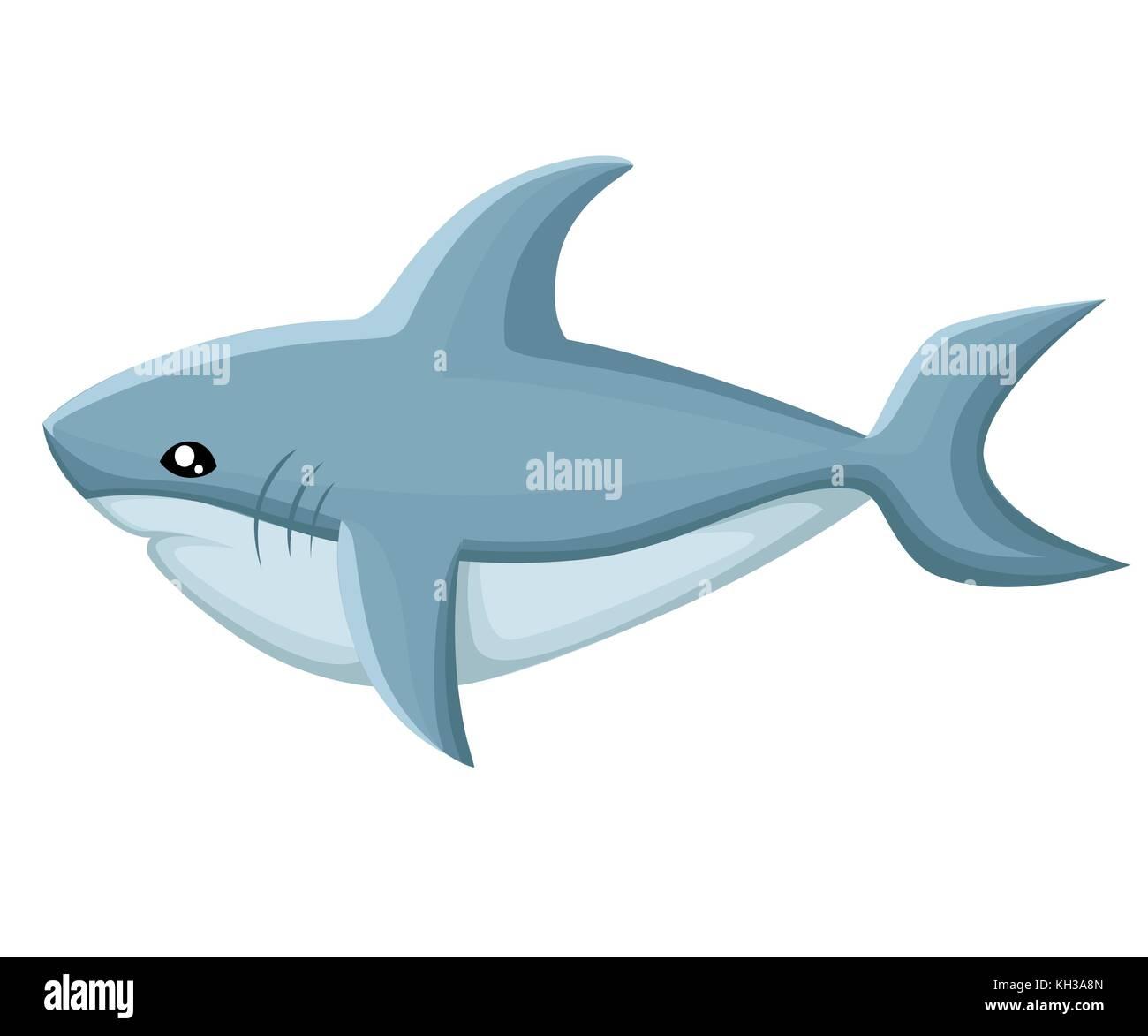 cute shark cartoon animal stock photos u0026 cute shark cartoon animal