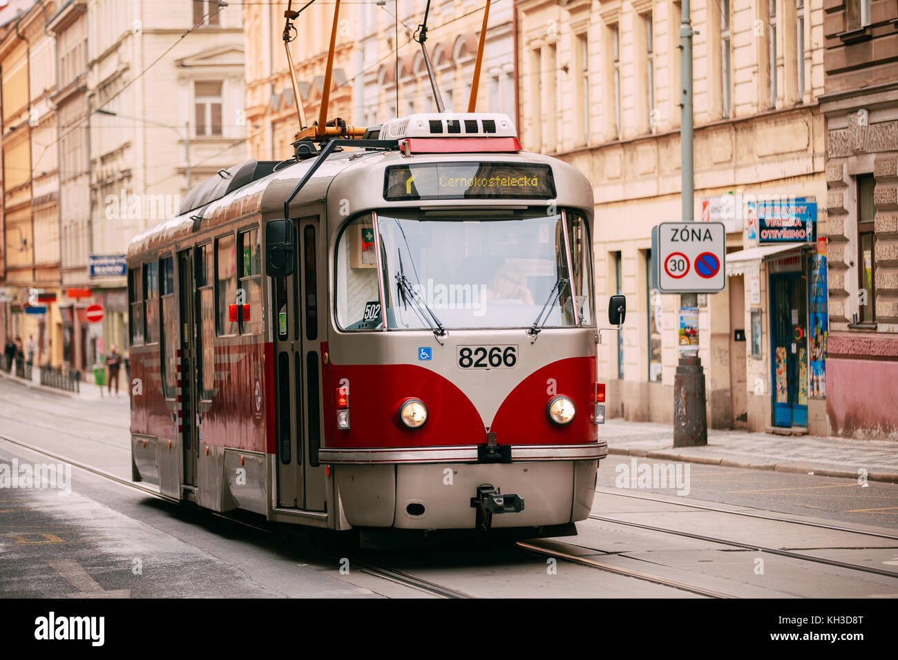 old tram prague street - photo #44