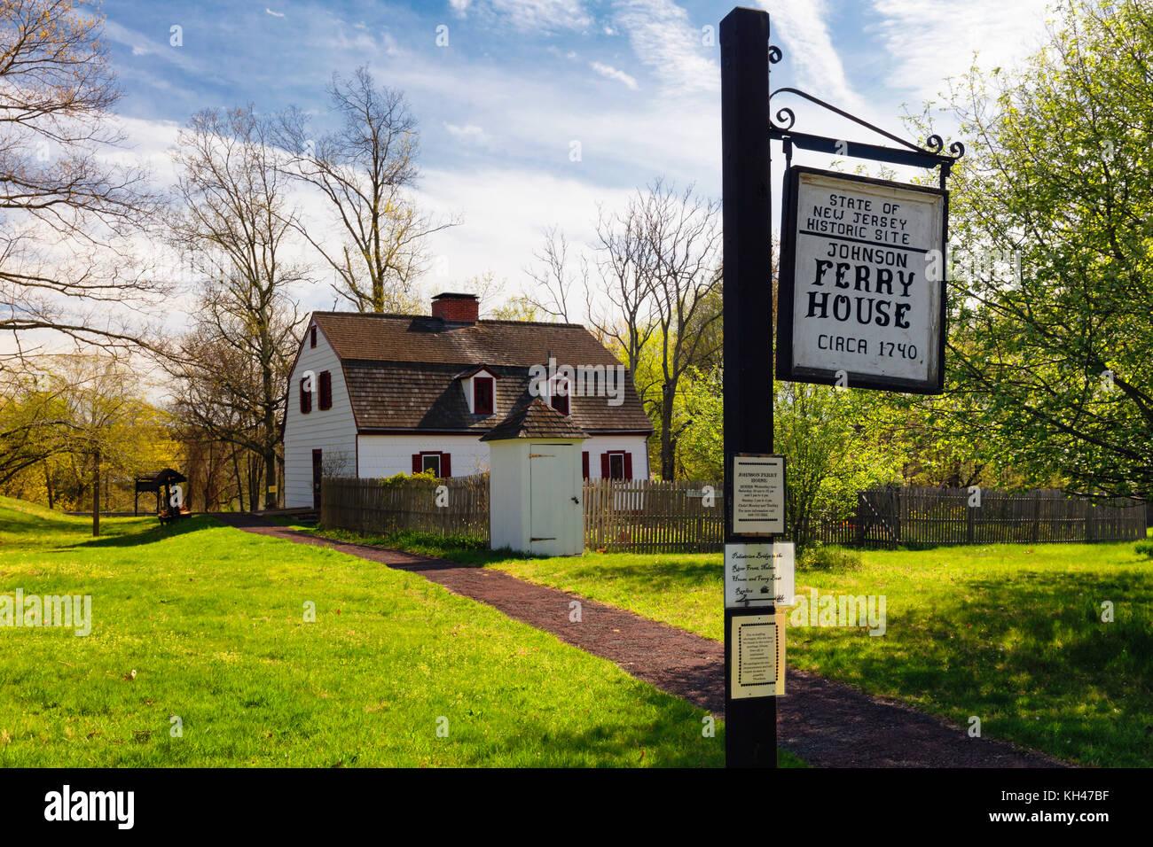 Historic 18th Century Farmhouse And Garden Titusville New Jersey