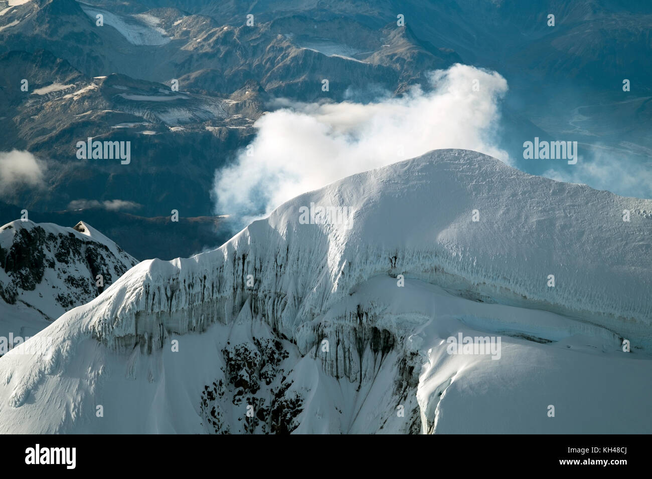 Mount Redoubt And Redoubt Volcano Has An Elevation Of Feet - Elevation in feet above sea level