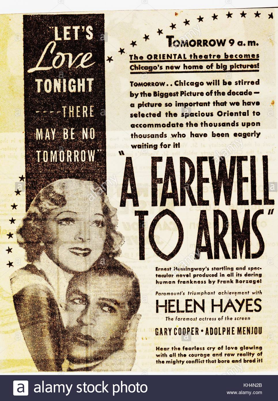 a book review of a farewell to arms a war novel by ernest hemingway A farewell to arms review - hemingway novel becomes multimedia theatre show 4 / 5 stars 4 out of 5 stars  first world war ernest hemingway reviews share on facebook.