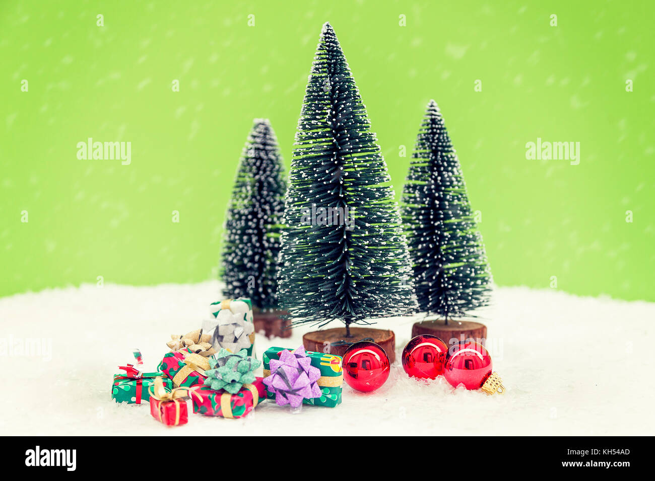 Wooden Toy Trees On Table Stock Photos & Wooden Toy Trees On Table ...