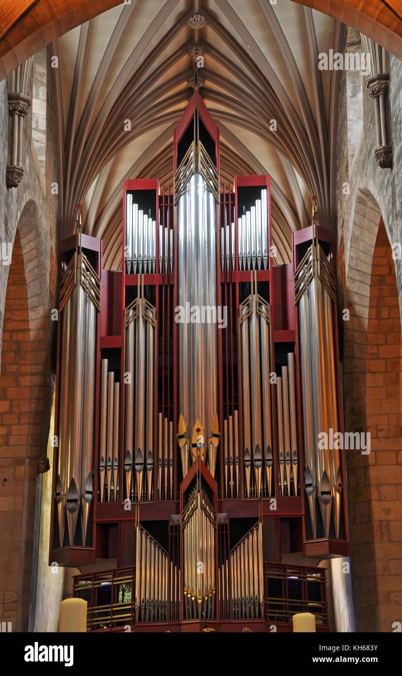 Church Organ St Giles Cathedral Edinburgh Scotland