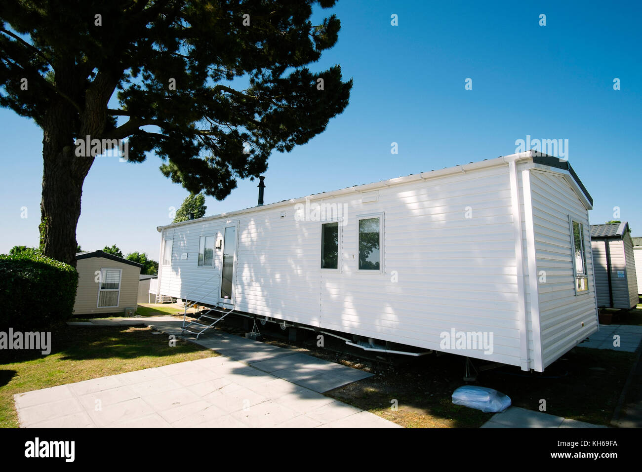 A Static Caravan Holiday Home In Rockley Park Near Poole Dorset