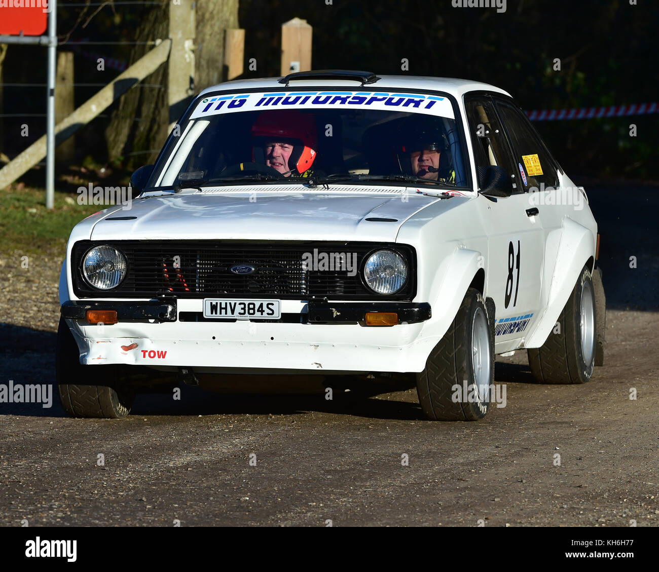 Steve Beck Paul Brown Ford Escort Mk2 Mgj Rally Stages