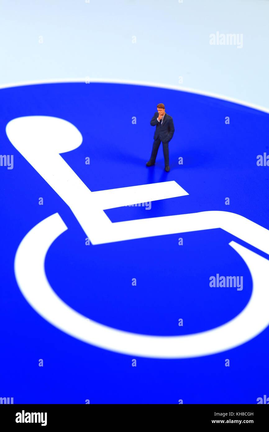 handicap logo stock photo 165527953 alamy