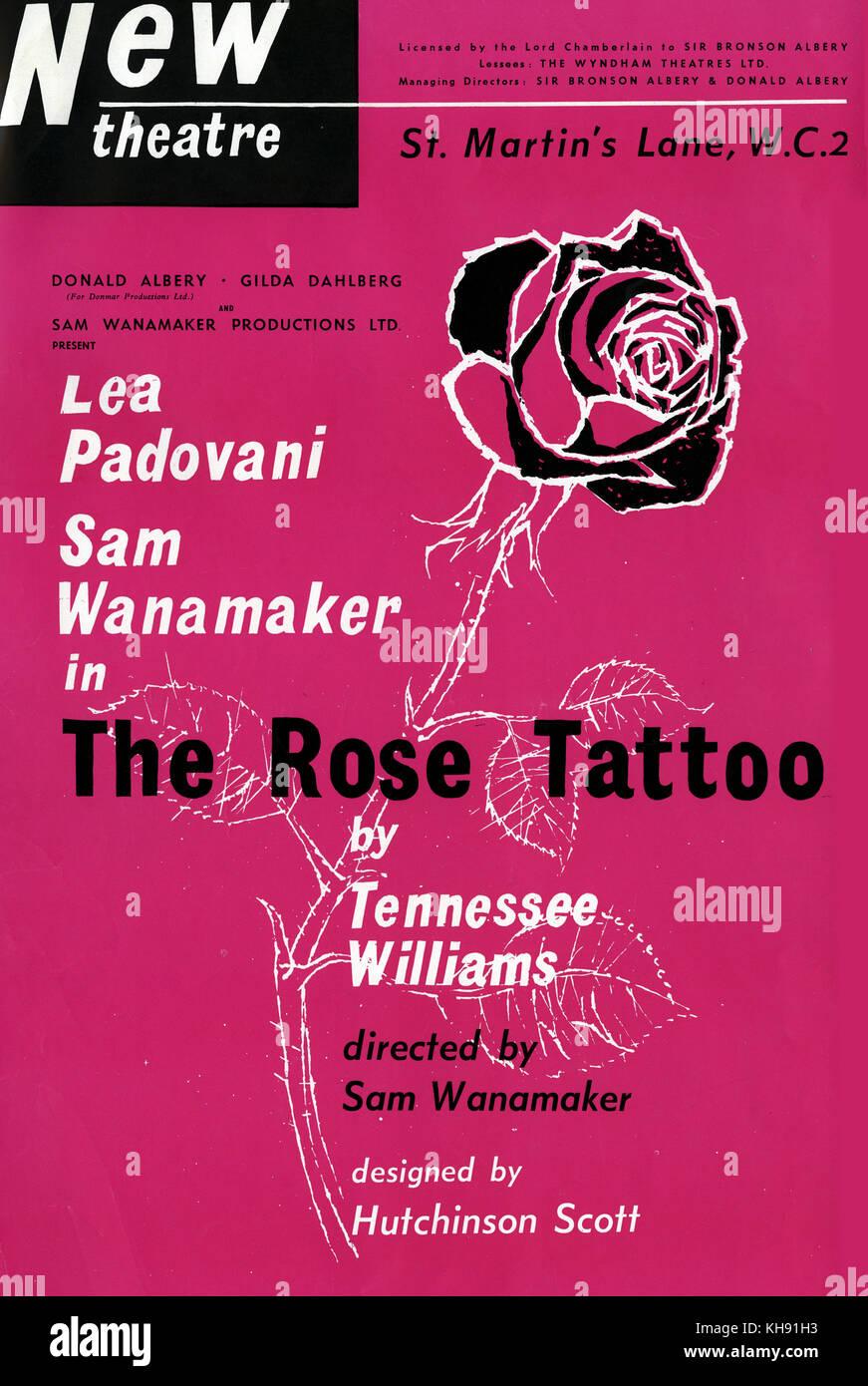 Sam wanamaker stock photos sam wanamaker stock images for The rose tattoo play