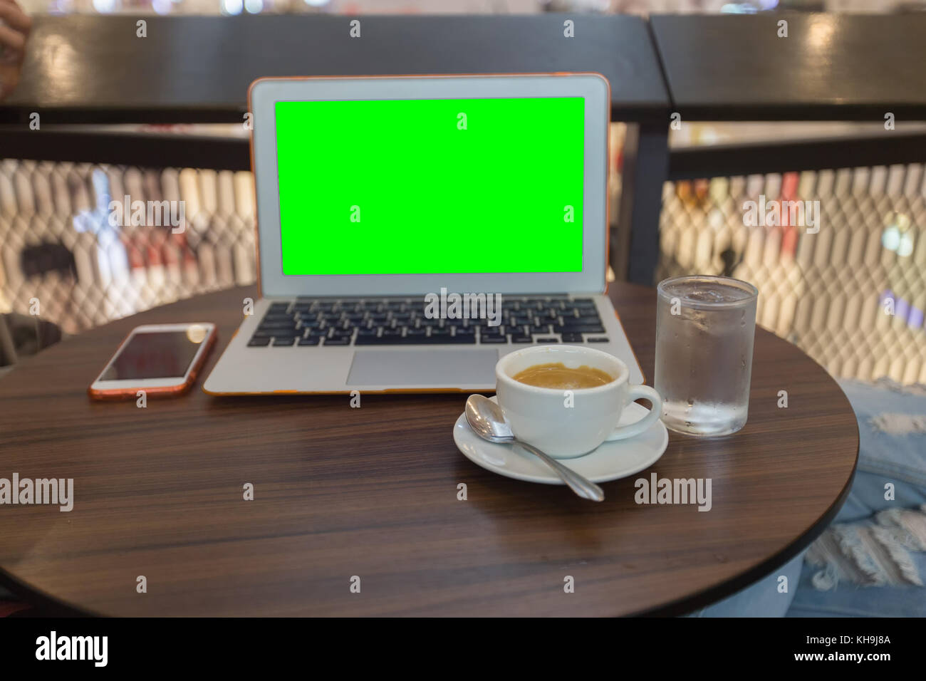 Labtop computer stock photos labtop computer stock images alamy drink coffee and working with labtop on table in coffee shop select focus close geotapseo Gallery