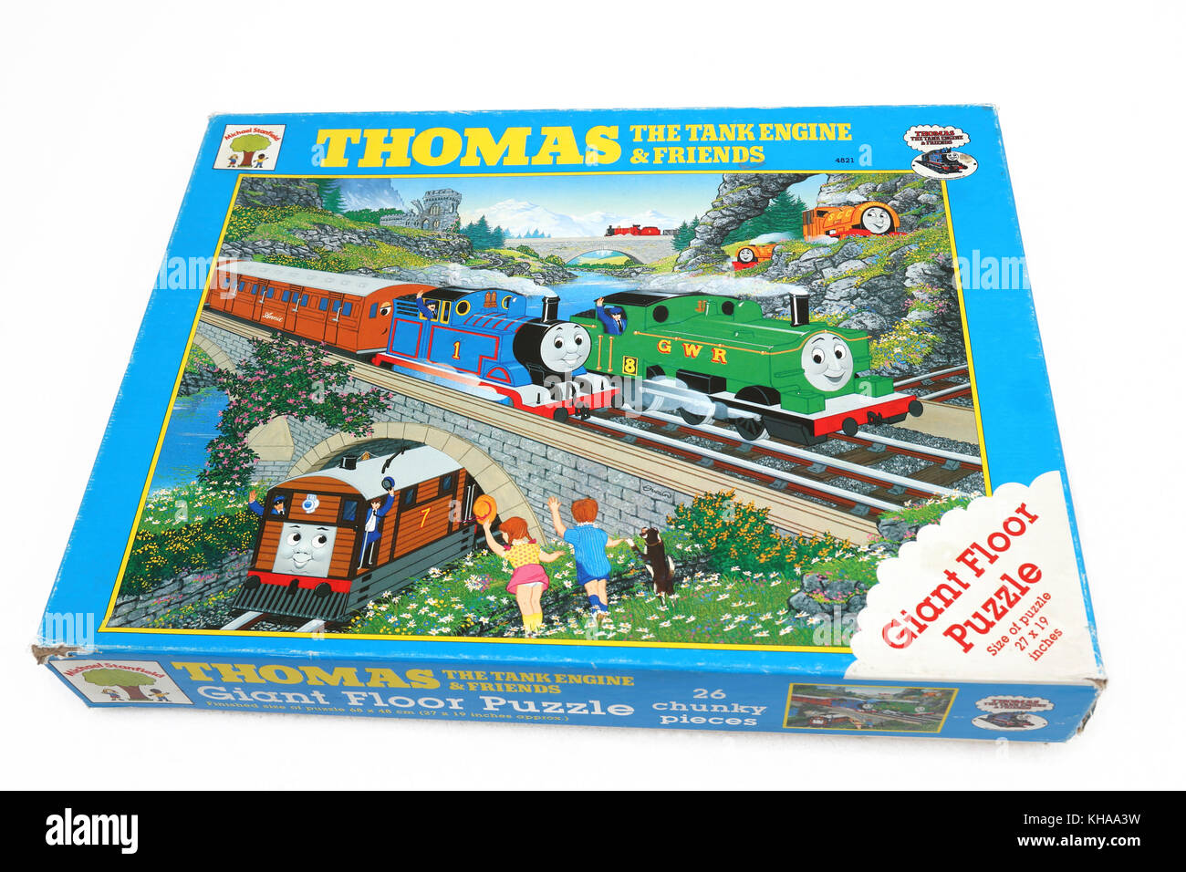 Thomas The Tank Engine And Friends Giant Floor Jigsaw Puzzle Khaa W on Vtec Boy