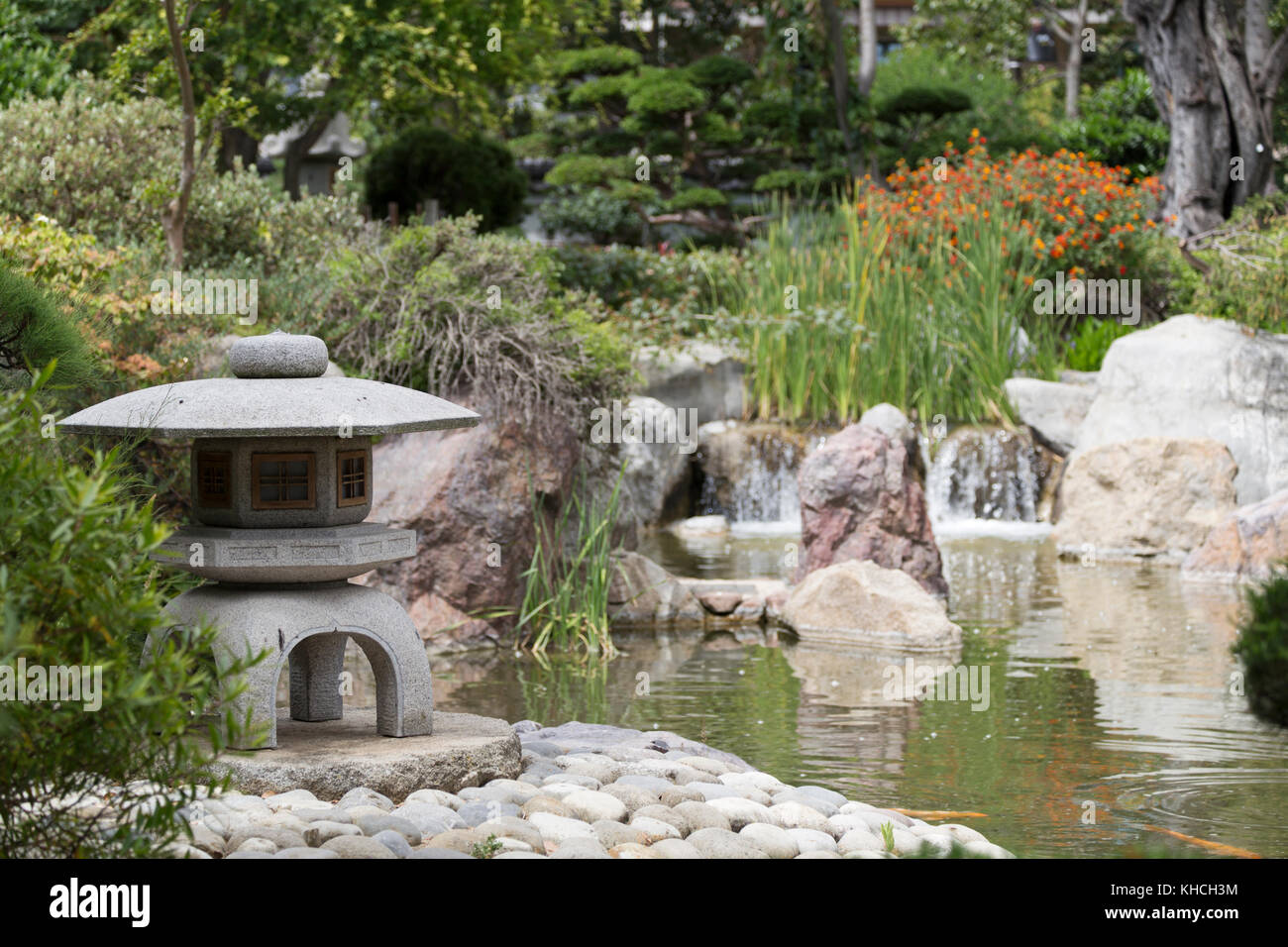 Monaco japanese garden stock photos monaco japanese for Jardin japonais monaco
