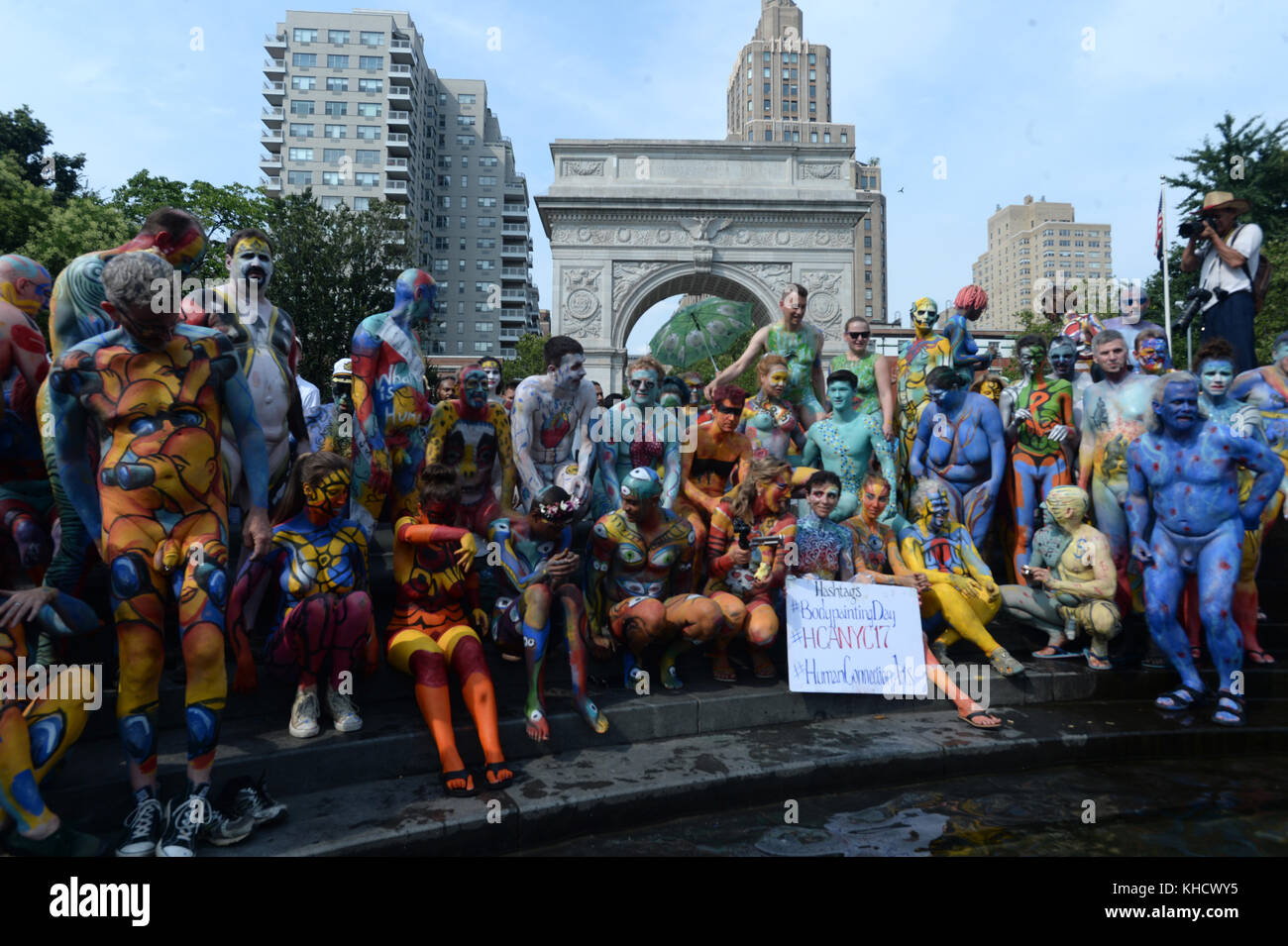 BodyPainting Day Coming to Washington Square Park NYC