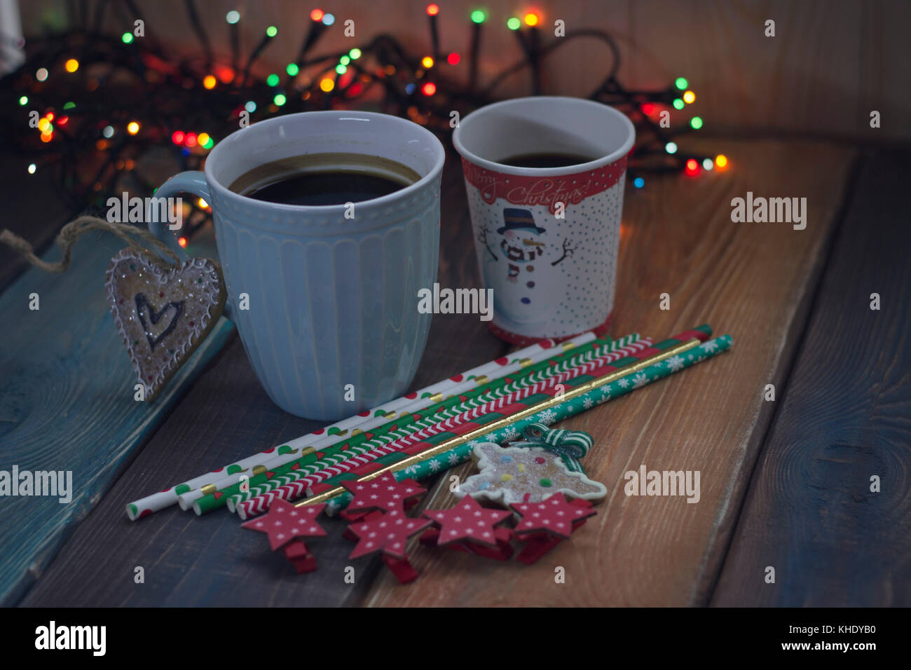 Blue print cafe stock photos blue print cafe stock images alamy cup and glass on the christmas table stock image malvernweather Gallery