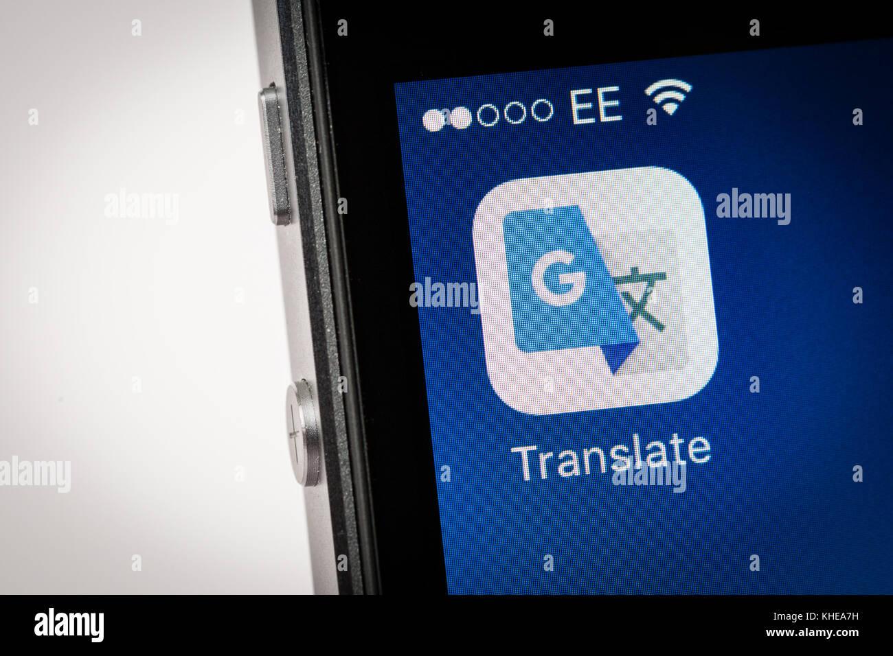 google translator app