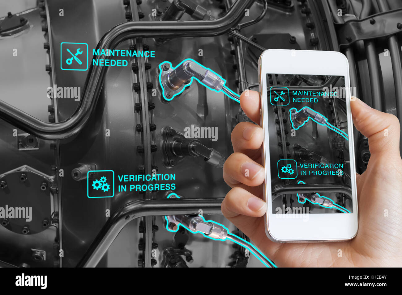 Augmented Reality Technology Maintenance And Service Of