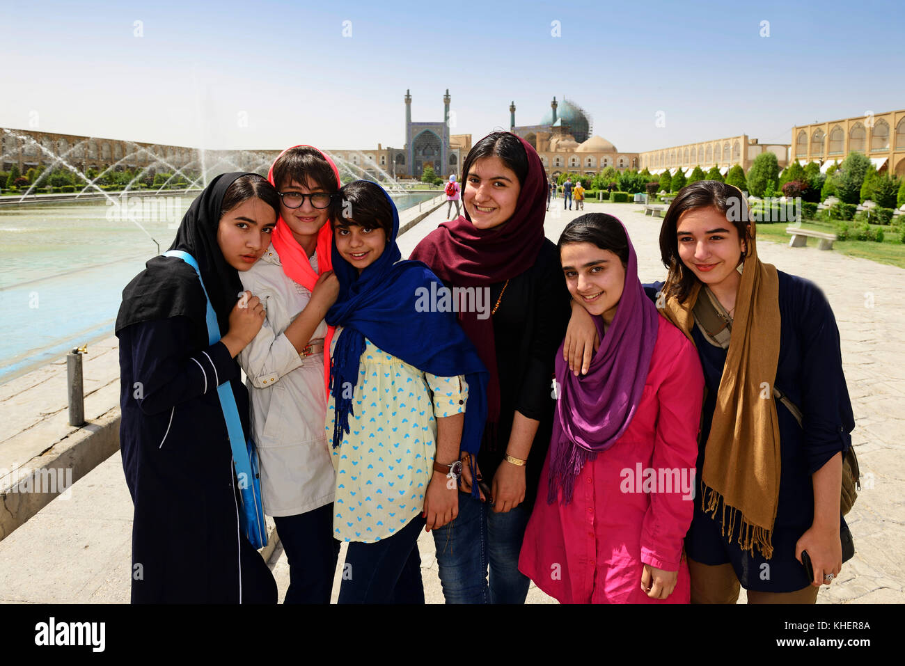 Isfahan girls