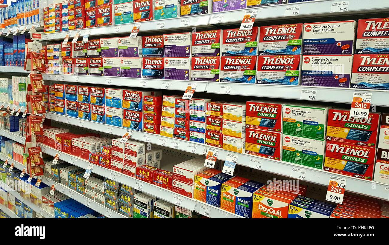 cold medicine shelves stock photos  u0026 cold medicine shelves