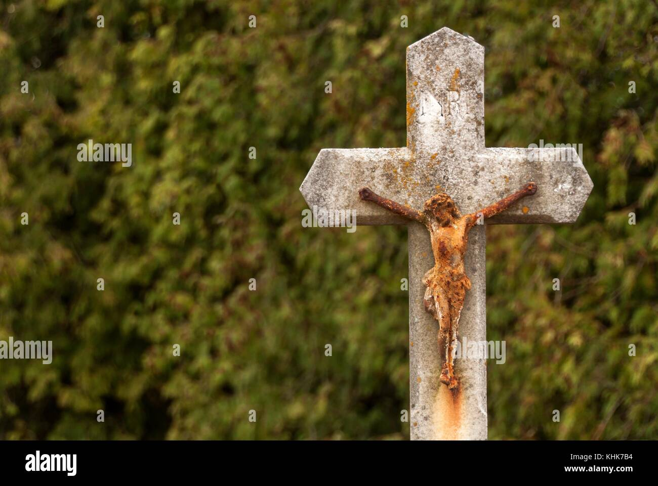 Statue Of Jesus Christ Jesus On Cross Symbol Of Faith Hope And