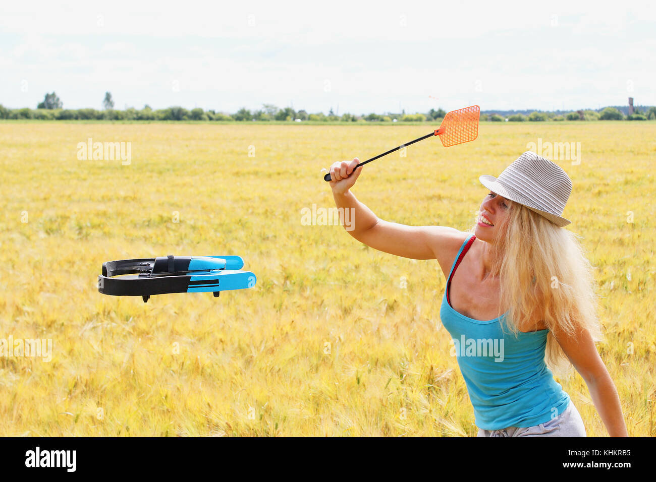 how to use a fly swatter