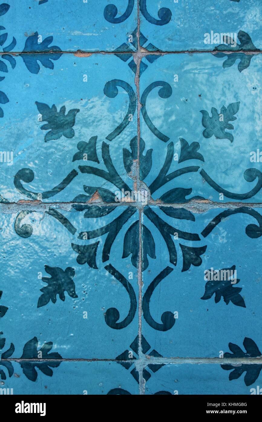 Colorful tiles of Lisbon Stock Photo: 165794372 - Alamy