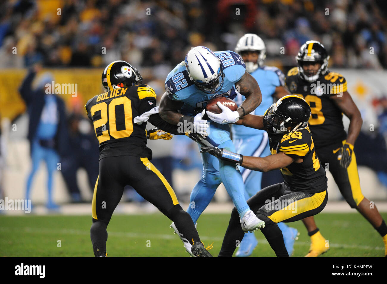 Nov 16th 2017 Titans Delanie Walker 82 during the Tennessee