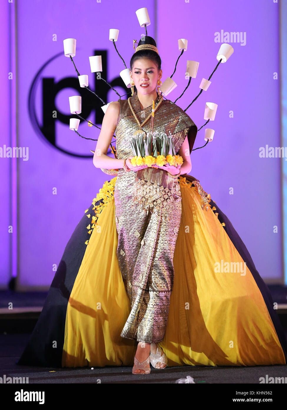 Las Vegas, NV, USA. 18th Nov, 2017. Miss Laos, Souphaphone Somvichitch.  66th Miss Universe Pageant National Costume Show at Planet Hollywood resort  Hotel