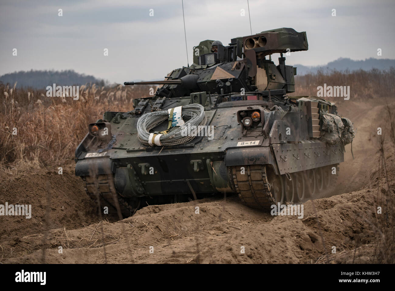 punctuality platoon and bradley fighting vehicles M2 bradley infantry fighting vehicle - 3 plus 7 equipped infantry  central  processors and digital information displays for commander, driver and squad  leader.