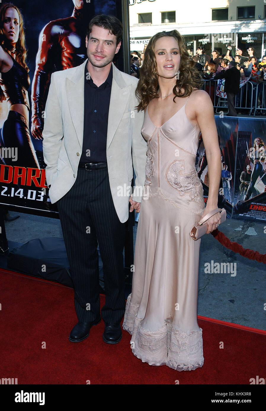Jennifer Garner Daredevil Premiere Daredevil 2003 Stock P...