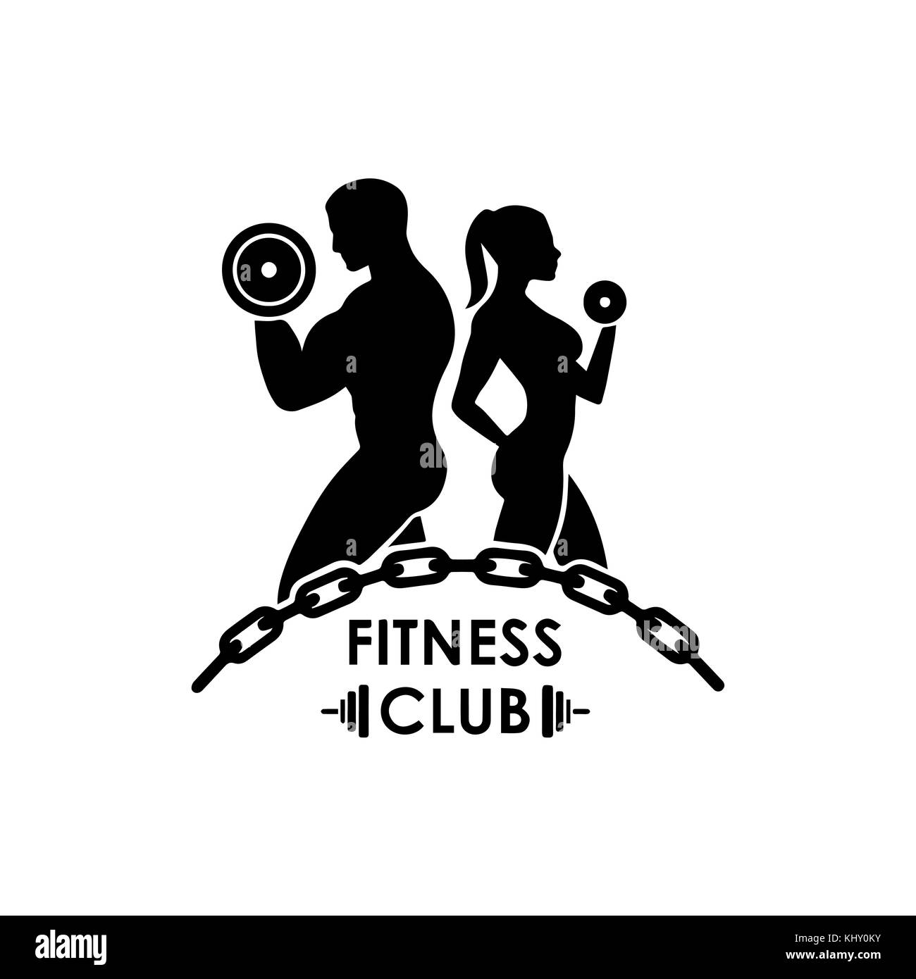 Bodybuilding Logo Stock Photos & Bodybuilding Logo Stock