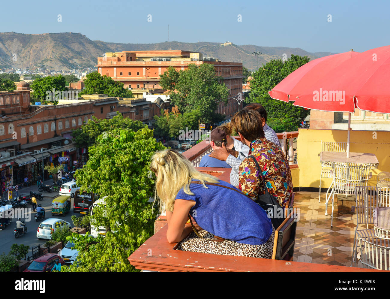 Sky Beach Cafe In Jaipur
