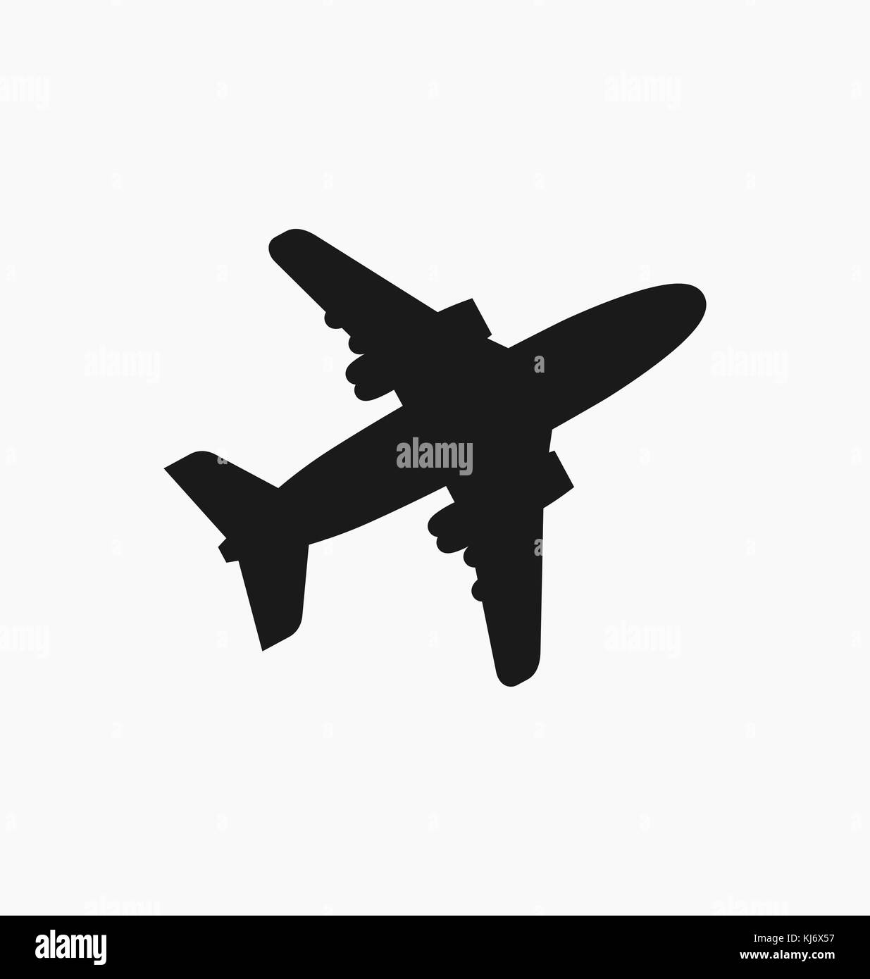 Plane sign stock photos plane sign stock images alamy plane icon sign in flat style isolated airplane flight symbol for your web site buycottarizona Gallery