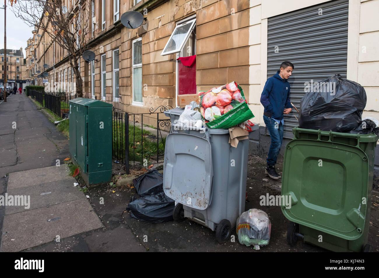 rubbish bins and neighbourhood stock photos & rubbish bins and