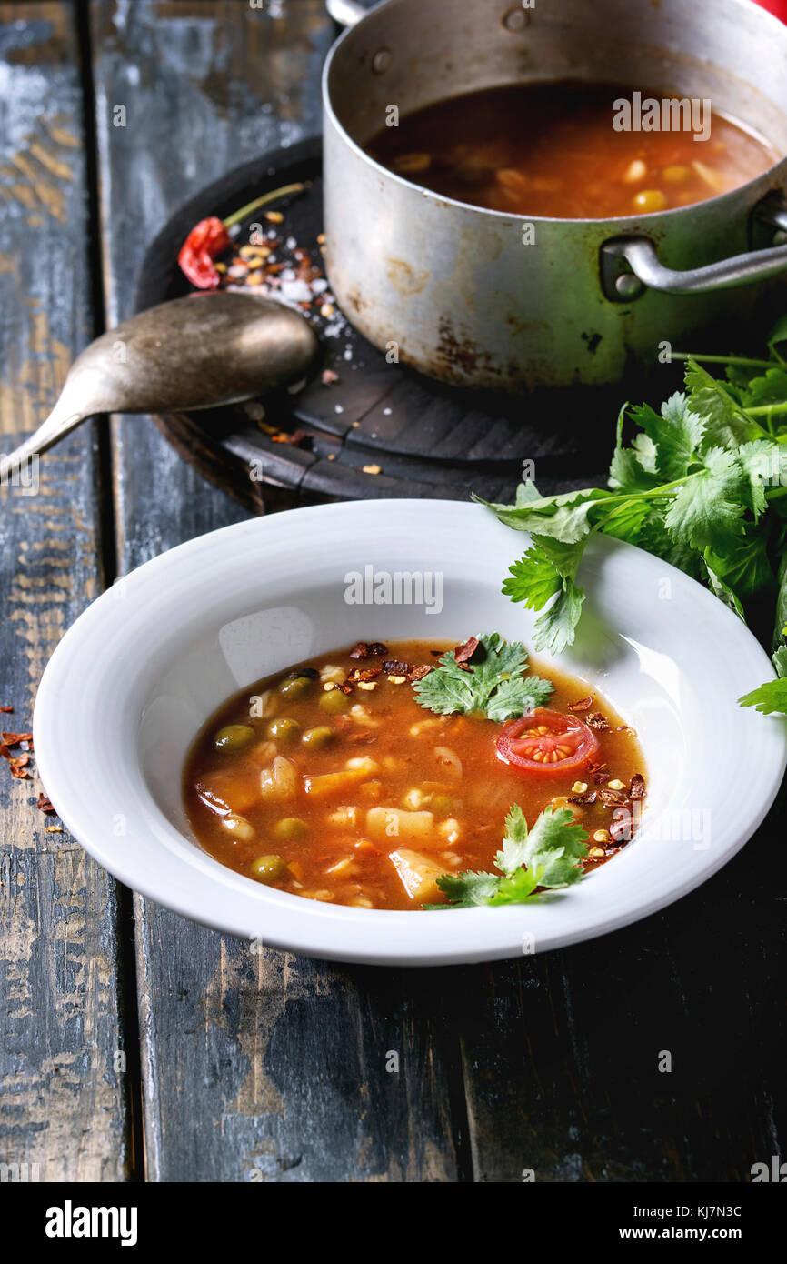 how to make carrot potatoe tomato soup