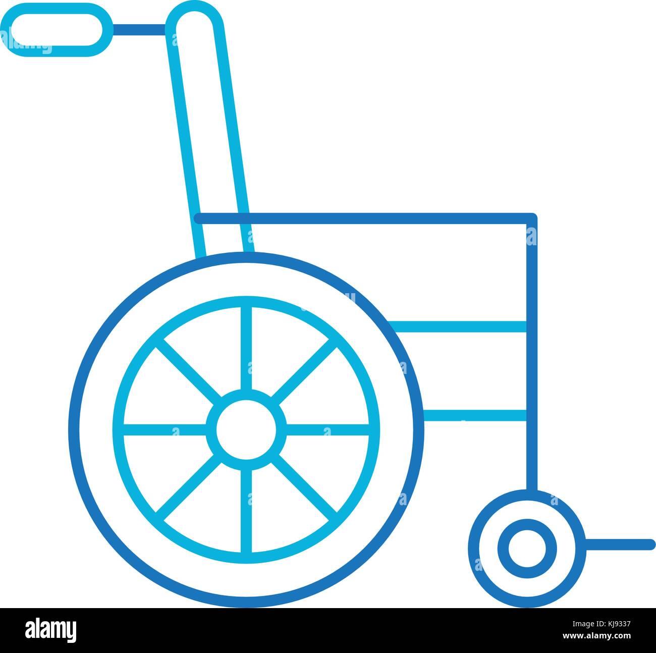 Wheelchair medical equipment disable transport stock vector art wheelchair medical equipment disable transport biocorpaavc Choice Image