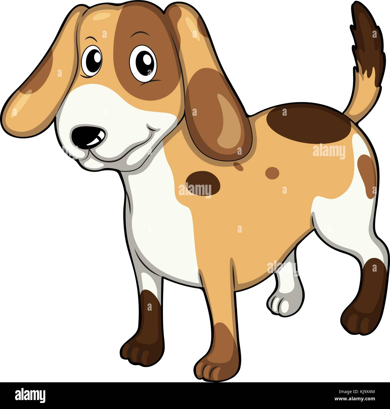 Most Inspiring Spot Beagle Adorable Dog - illustration-of-an-adorable-pet-on-a-white-background-KJ9X4M  Perfect Image Reference_167463  .jpg