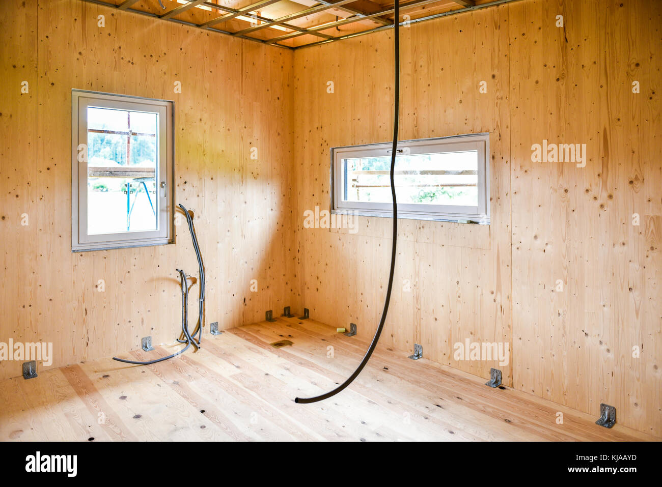 Electrical installation in a wooden house: design rules for step-by-step installation 31