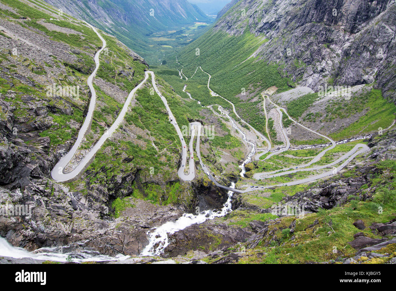 The trollstigen is one of the most famous tourist roads in norway the trollstigen is one of the most famous tourist roads in norway publicscrutiny Choice Image