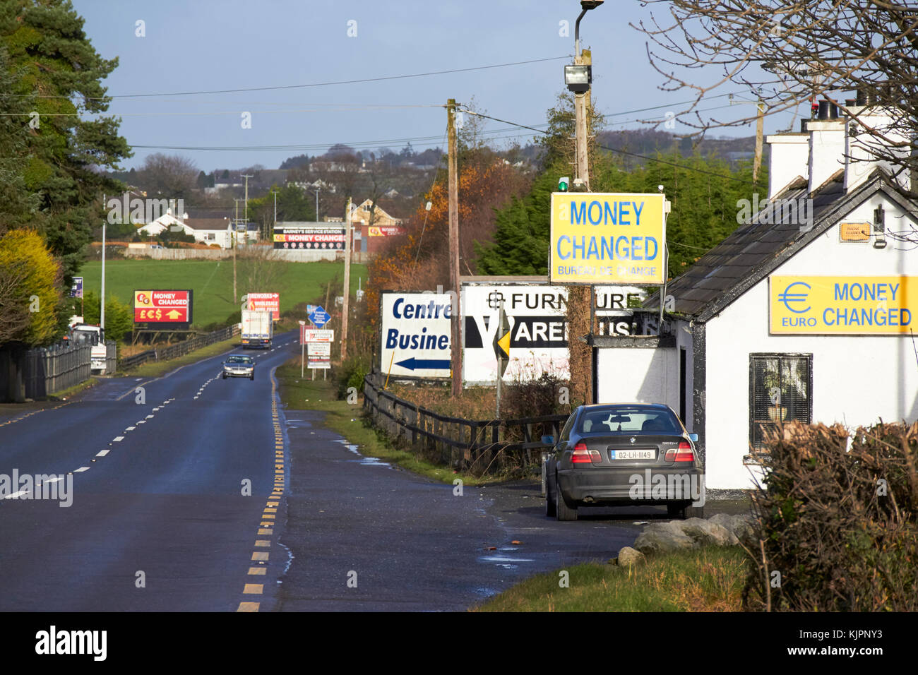 northern ireland border sign stock photos northern ireland border sign stock images alamy. Black Bedroom Furniture Sets. Home Design Ideas