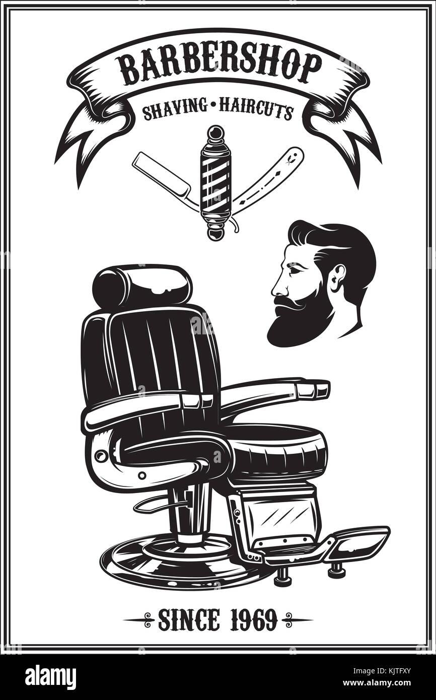 barber shop retro poster design stock photos amp barber shop