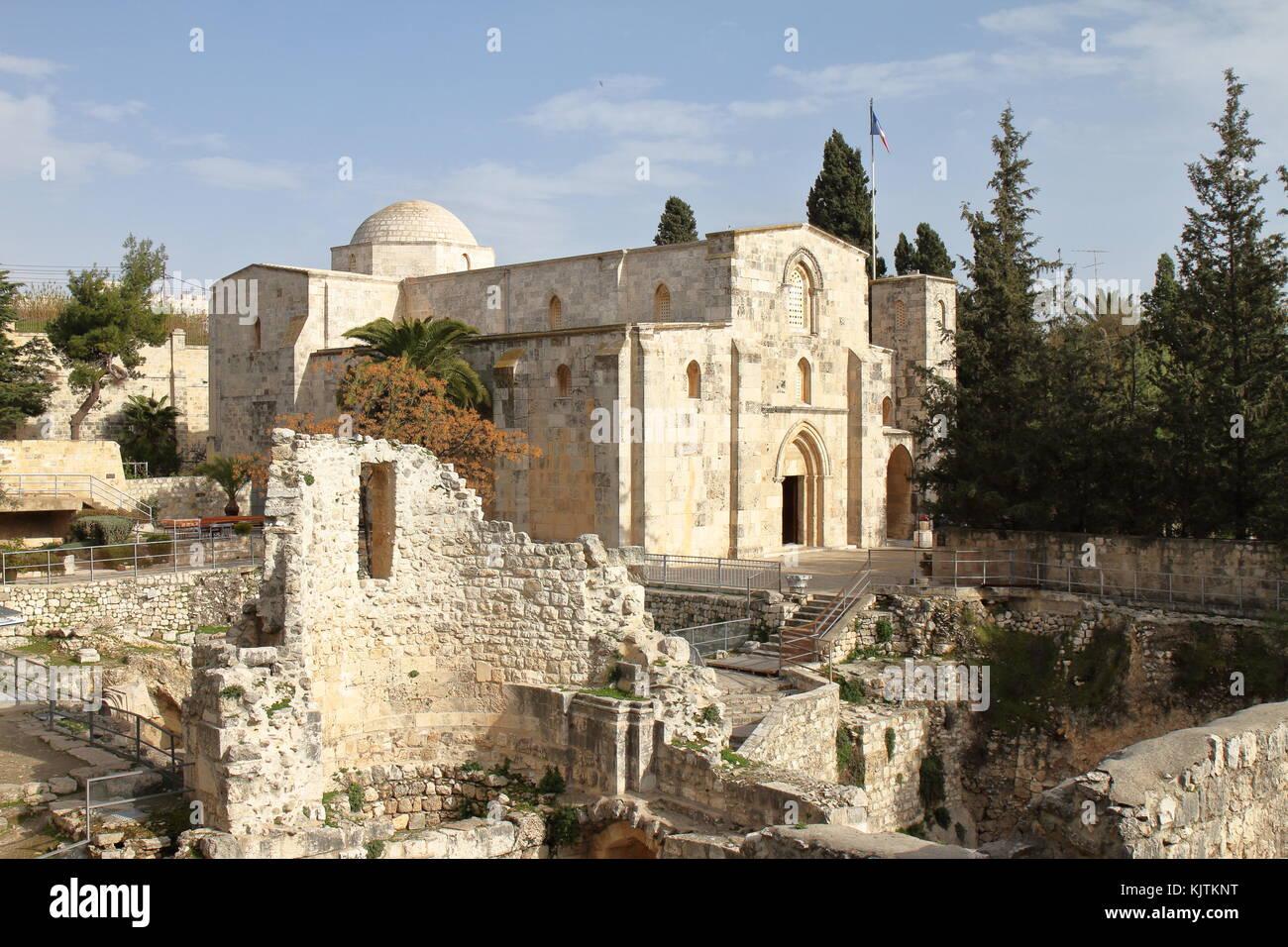 Jerusalem Church Of Anne Stock Photos Jerusalem Church Of Anne Stock Images Alamy