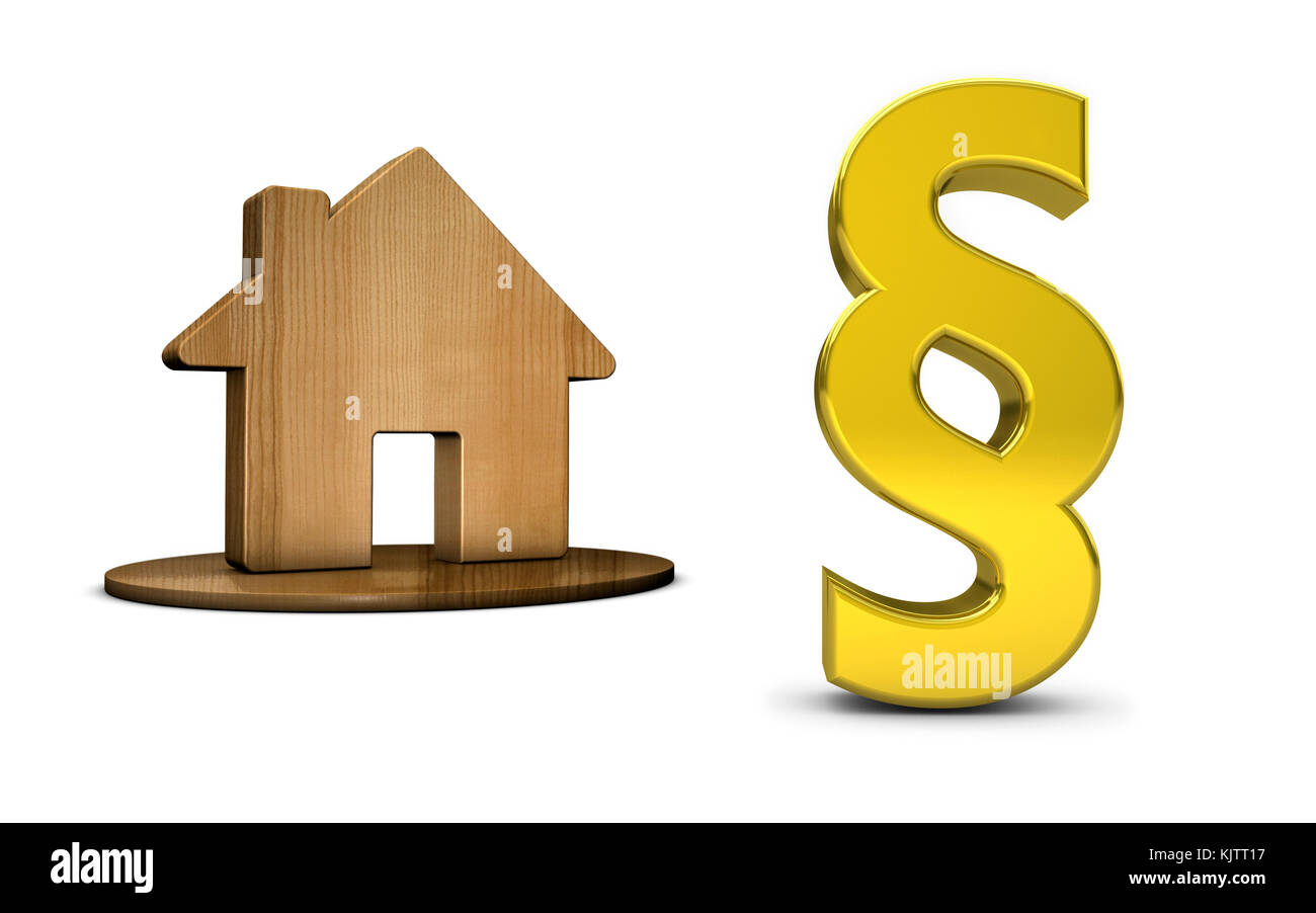 3d paragraph stock photos 3d paragraph stock images alamy paragraph sign and house icon 3d illustration on white background stock image buycottarizona Gallery