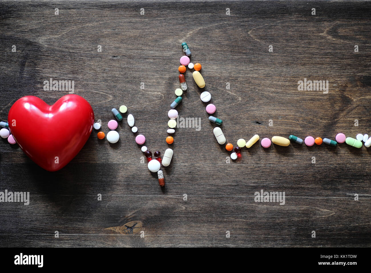 The Concept Of Medical Care For Heart Disease Cardiac Rhythm In The